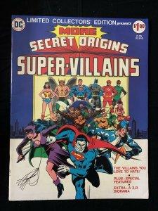 Limited Collectors' Edition More Secret Origins Super-Villains C-45 F/VF