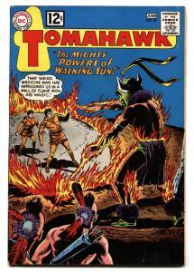 TOMAHAWK #80 Silver-age comic book 1962- DC WESTERN -SCI FI ISSUE-