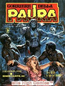 PAURA MAGAZINE ITALIAN (1974 Series) #10 Very Fine