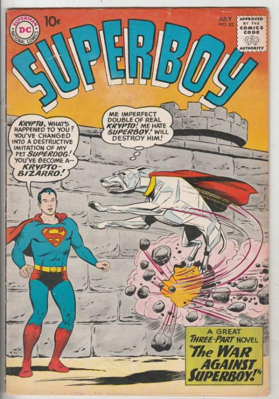 Superboy #82 (Jul-60) FN+ High-Grade Superboy