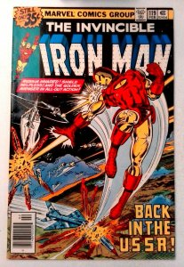 Iron Man #119 Marvel 1979 VF- Bronze Age Comic Book 1st Print