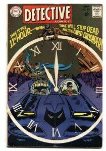 Detective Comics #375-BATMAN BATGIRL-1968-New Batmobile VG+