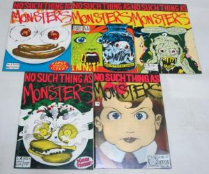 NO SUCH THING AS MONSTERS 1-5 OUT OF LEFT FIELD;DEMOLIS