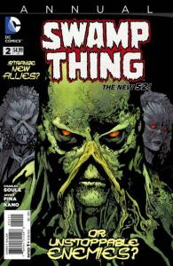Swamp Thing (2011 series) Annual #2, NM (Stock photo)