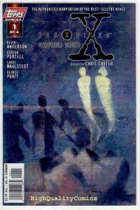 X-FILES GROUND ZERO #1, NM+, Fox Mulder, Dana Scully, more X-F in store