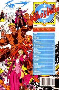 Who's Who: The Definitive Directory of the DC Universe #23, VF- (Stock p...
