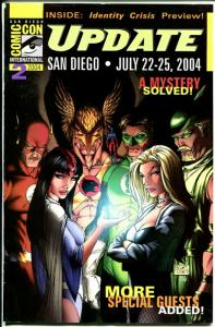 San Diego Comic Con Update 2004-Flash-Hawkman-Black Canary-Green Arrow-VG