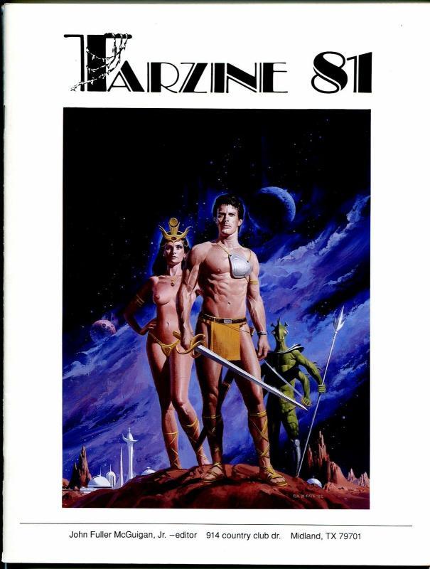 Tarzine #81 1992-Fanzine for collectors of Tarzan and ERB memorabilia-VF