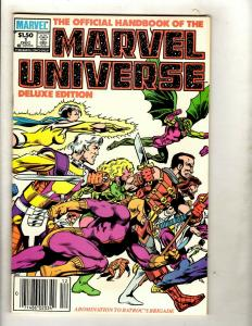 9 The Official Handbook of the Marvel Universe Marvel Comics 1 2 3 4 5 6 7 + WS1