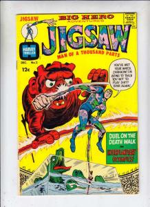 Jigsaw #2 (Dec-66) NM- High-Grade Jigsaw