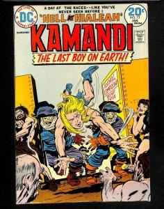 Kamandi, The Last Boy on Earth #13