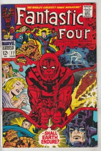 Fantastic Four #77 (Aug-68) VF/NM High-Grade Fantastic Four, Mr. Fantastic (R...