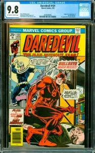 Daredevil #131 CGC Graded 9.8 Origin & 1st appearance of the new Bullseye. 1s...