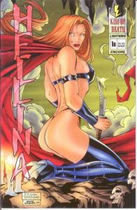 HELLINA KISS OF DEATH (1995 LIGHTNING) 1B ENCORE ED (3/ COMICS BOOK