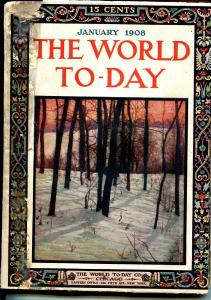 World Today 1/1908-topical magazine-art-articles-McCutcheon cartoon art-G