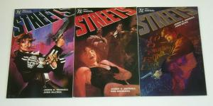 Streets #1-3 VF/NM complete series JAMES HUDNALL dc comics - prestige format 2