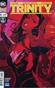Trinity 19  Bill Sienkiewicz Variant Cover  9.0 (our highest grade)