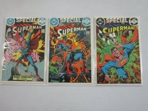 Superman Special set #1-3 8.0 VF (1983)
