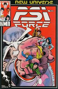 PSI-Force #3, VF- (Stock photo)