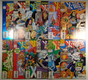 X-Men 2099 #1 2 3 4 5 6 7 8 9 10 11 12 Lot of 12 Marvel Comics