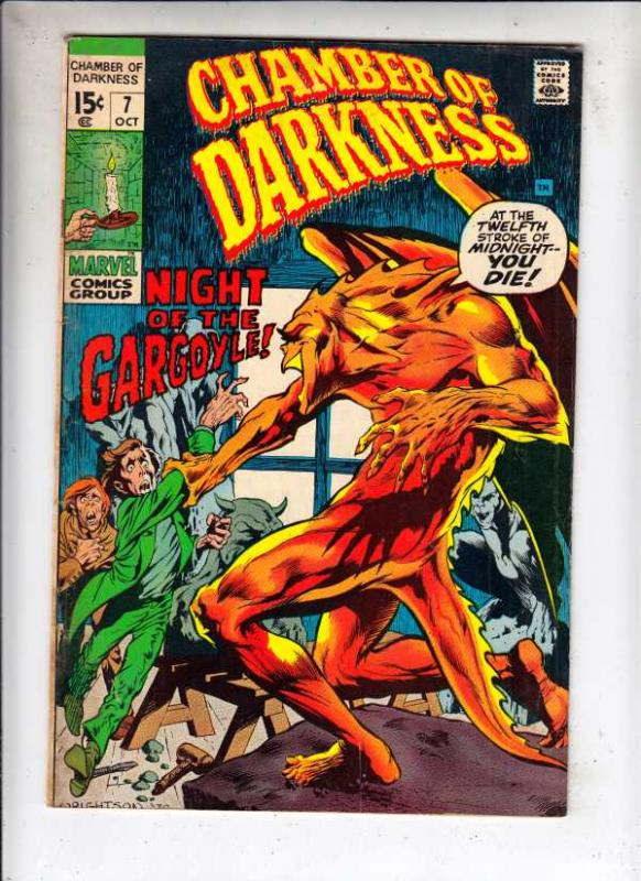Chamber of Darkness #7 (Oct-70) FN Mid-Grade