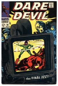 DAREDEVIL #46-1968-MARVEL SILVER-AGE-HIGH GRADE COPY