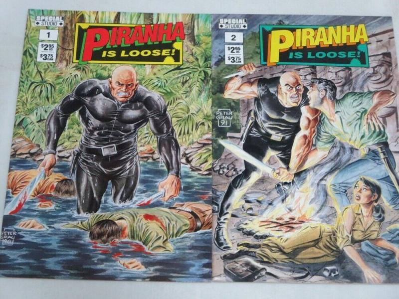 PIRANHA IS LOOSE (1991 SPECIAL STUDIO) 1-2