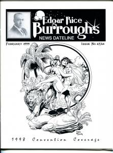 Edgar Rice Burroughs News Dateline #63/64 1999-Tarzan-comics-books-pulps-VF