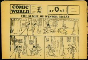 Comic World #7/8 Little Nemo Windsor McCay reprints VG