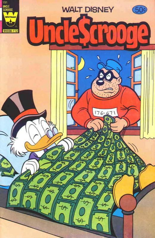 Uncle Scrooge (Walt Disney…) #191 FN; Gold Key | save on shipping - details insi