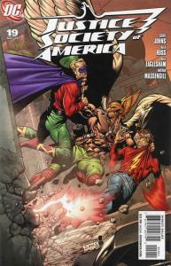 Justice Society of America (2nd Series) #19A VF/NM; DC | save on shipping - deta