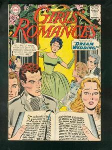 GIRLS' ROMANCES #90 1963-DC ROMANCE VG