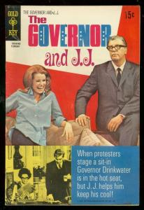 GOVERNOR AND J J #1 1970-JULIE SOMMARS-TV PHOTO COVER FN