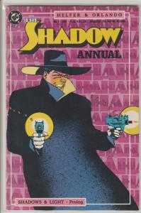 DC The Shadow Comic Book 1987 Annual Issue #1 - BAGGED & BOARDED