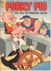 PORKY PIG (1942-1962 DELL) F.C. 385 VG-F April 1952 COMICS BOOK
