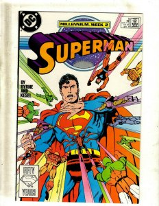 Lot of 13 Superman DC Comic Books #13 14 15 16 17 18 19 20 21 22 23 0 1 SB4