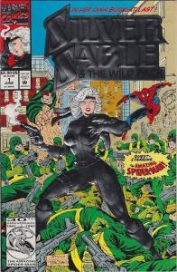 SILVER SABLE #1 2, NM+, 1992, Spider-man, Wild Pack, more Marvel in store