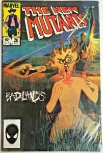 NEW MUTANTS#20 VG 1984 MARVEL COMICS