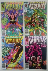 ?HERCULES Prince of Power - Price Variant 1984 Full Set 1-4  BOB LAYTON PARKER