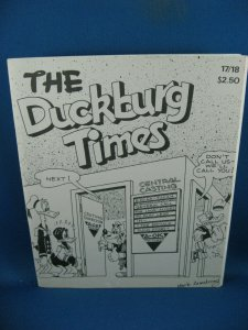 DUCKBURG TIMES 17/18 VF BARKS FANZINE 1980