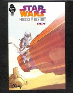 Star Wars Forces of Destiny-Rey #1 (2018)