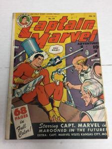 Captain Marvel Adventures 54 6.0 Fine Fn