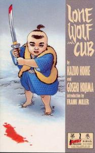 Lone Wolf and Cub (1987 series) #2, VF+ (Stock photo)