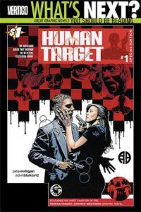 Human Target (2010 series) Special Edition #1, VF+ (Stock photo)