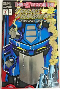 TRANSFORMERS GENERATION 2#1 NM 1993 MARVEL COMICS