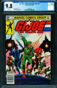 G.I. Joe Real American Hero #4 1983 Larry Hama Newsstand-2038908003