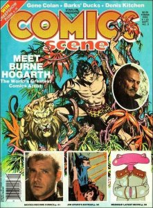 Comics Scene #5 VG; Starlog | low grade comic - save on shipping - details insid