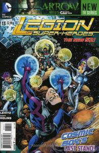 Legion of Super-Heroes (7th Series) #13 VF/NM; DC | save on shipping - details i