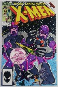 The Uncanny X-Men #202 -  Nightcrawler leaves Team   - NM - Marvel Comics 1986