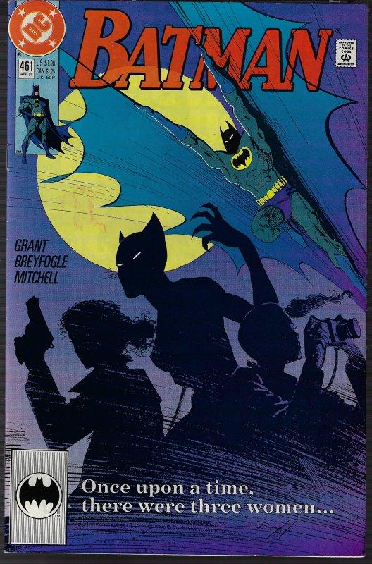 Batman #461 (DC, 1991) NM-